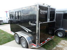 S2569A  2014 Shadow 2 Horse Bumper Pull trailer with Ramp