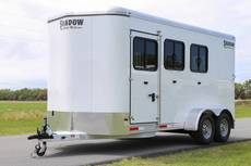 S3244 Shadow 3 Horse Enclosed Bumper Pull