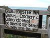 Crab and Lobster Inn sign