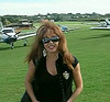 Pat At Benbridge Airfield, Ilse Of Wight