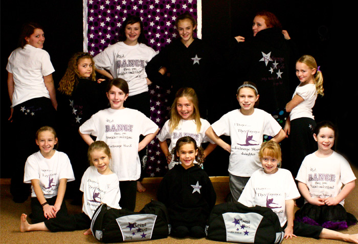 Custom Dance Bags Shirts