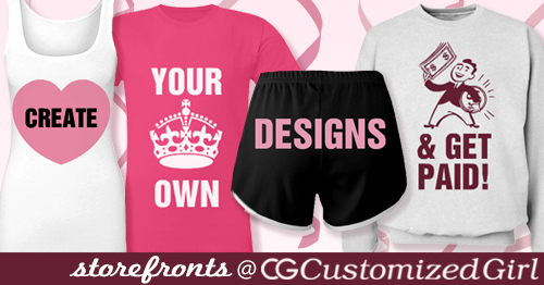Customized Girl Storefronts
