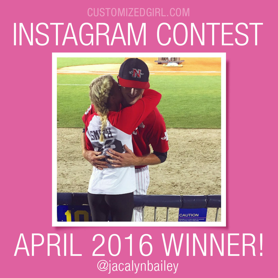 April Instagram Selfie Winner