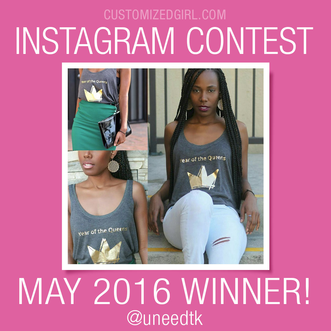 May Instagram Winner
