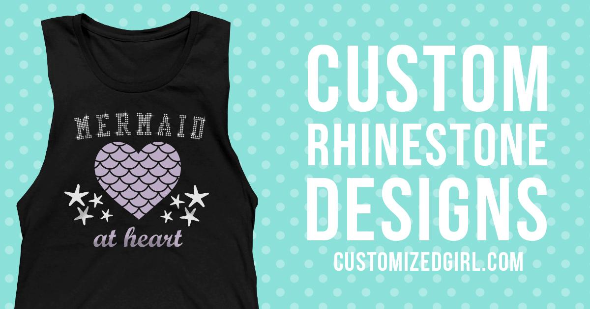 Custom Rhinestone Shirts