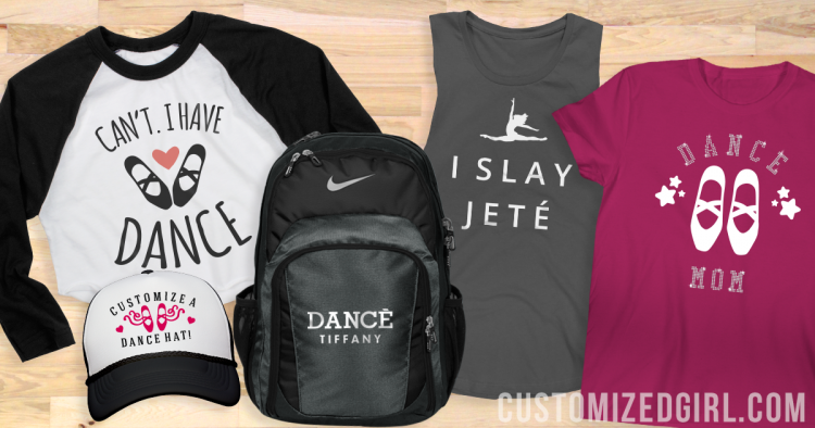 Custom Dance Bags and Shirts