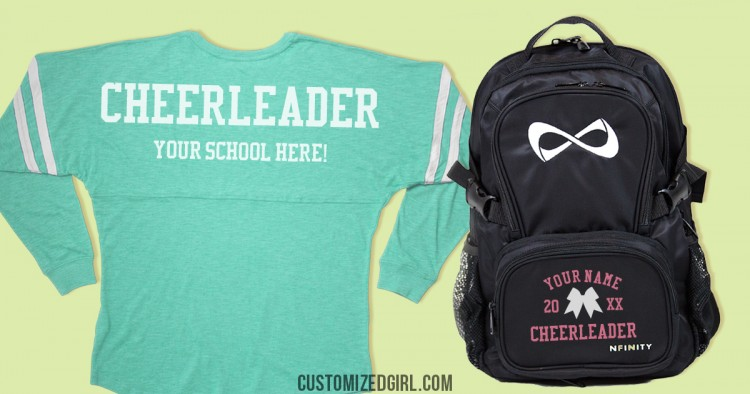 Cheer Bags and Shirts
