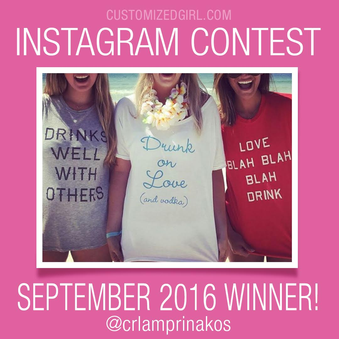 Customized Girl Instagram Contest