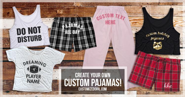 Custom Pajamas