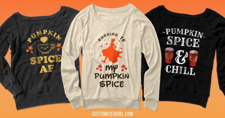 Pumpkin Spice Shirts