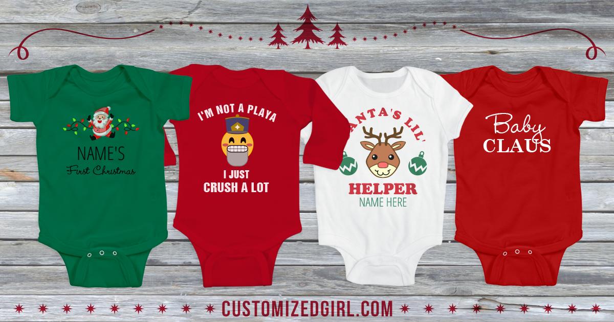Baby Christmas Onesies