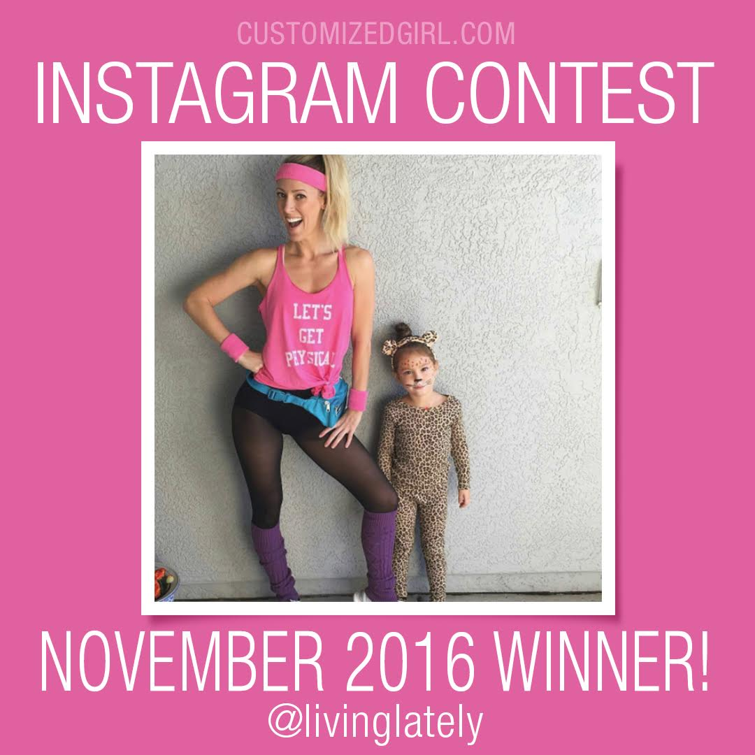 Customized Girl Instagram Selfie Winner