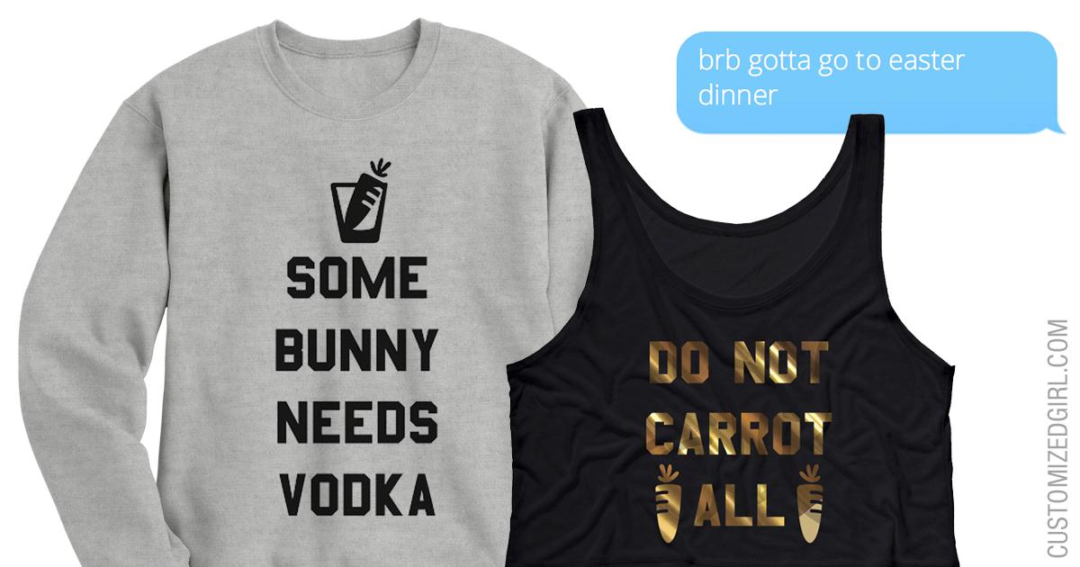 Easter Pun Shirts