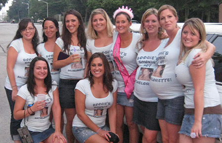 Custom Photo Bachelorette Shirts