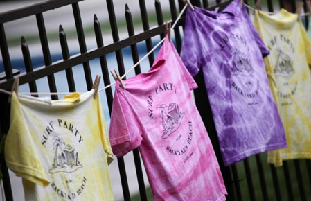 Custom White Tie Dye Shirts