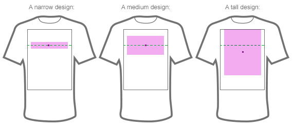 Vertical Centering Go Above Graphic Design