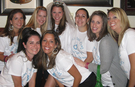 Custom White Tees for the Bachelorette Party