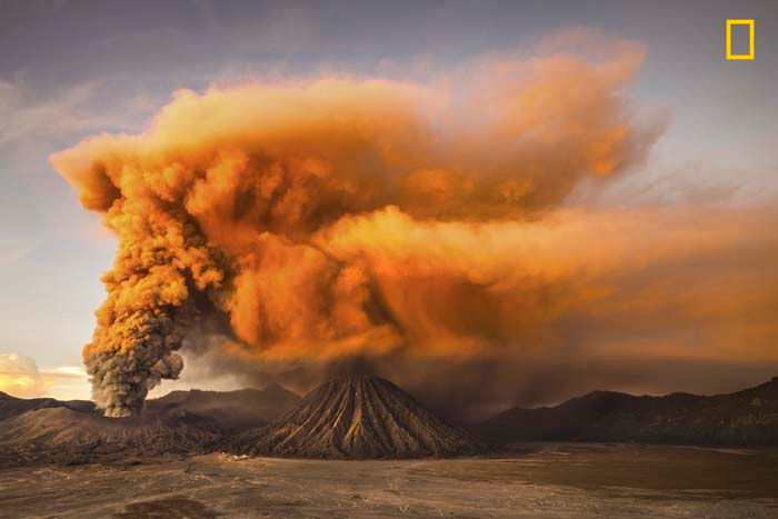 Honorable Mention: Mt. Bromo by Reynold Riksa Dewantara