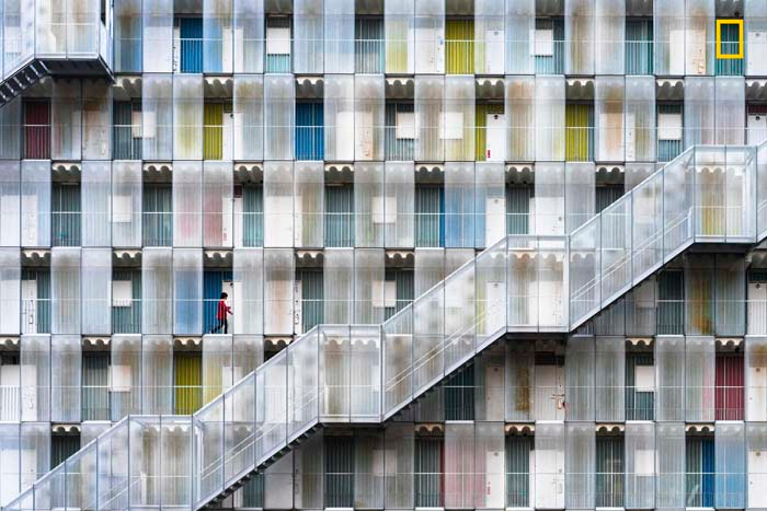 Honorable Mention: Colorful apartment by Tetsuya Hashimoto