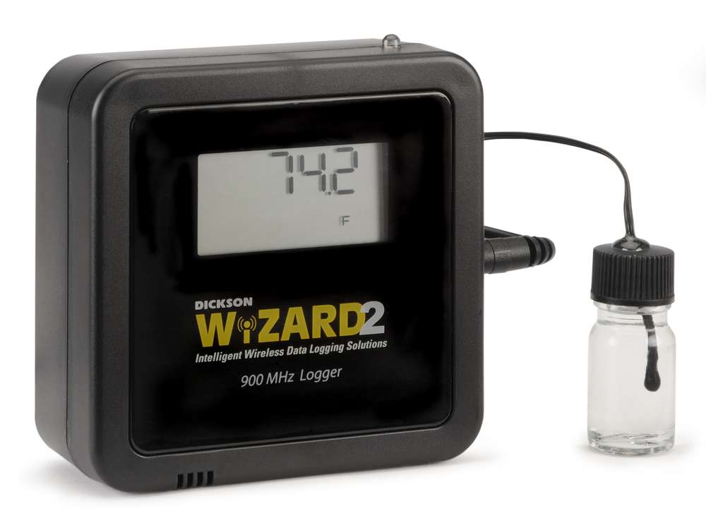 Data Logger Thermometer For Vaccines : Wt wireless vaccine temperature data logger dickson