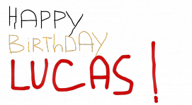 Happy Birthday Lucas