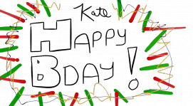 Happy Birthday Kate!