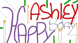 Happy Birthday Ashley!