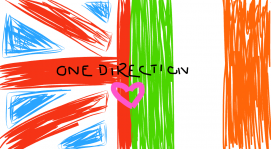 One direction flag<3<3