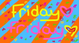 Gotta get down on Friday💙💜💚❤