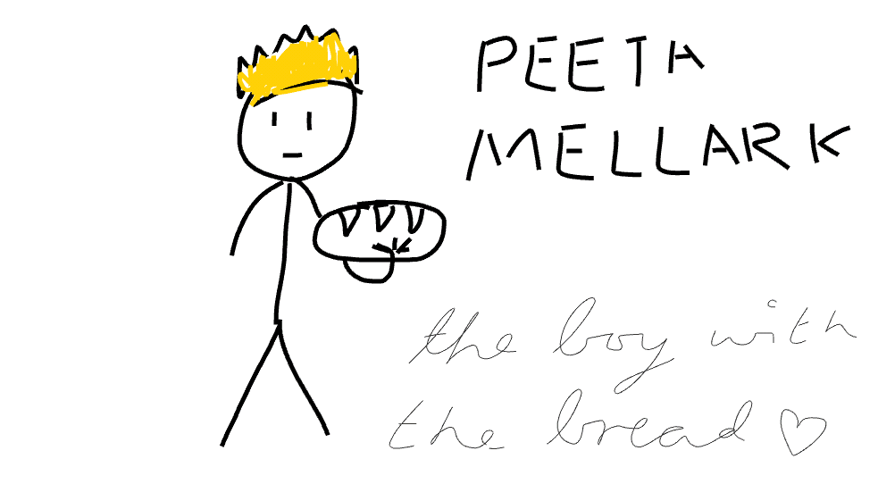 The boy with the bread <3