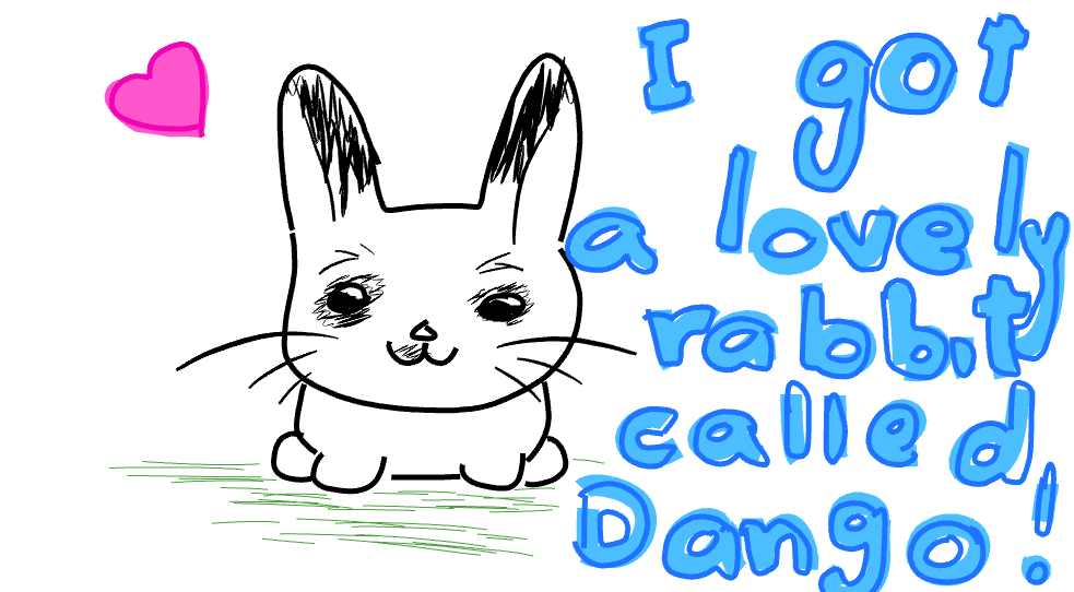 Dango the rabbit :)