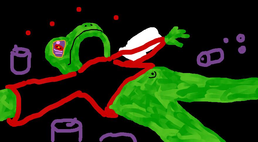 Kermit's Gluttony