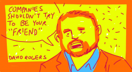 @David_Rogers discusses inauthentic social media at #pivotcon #doodlely