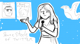 @shanesteel shares some of Twitter's funniest moments #pivotcon #doodlely
