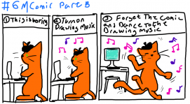 "#6MComics How I make ""Inking"" fun🎵"