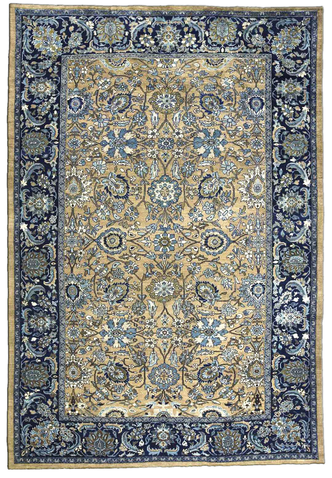 Persian Sultanabad Carpet Antique Persian Rug Antique