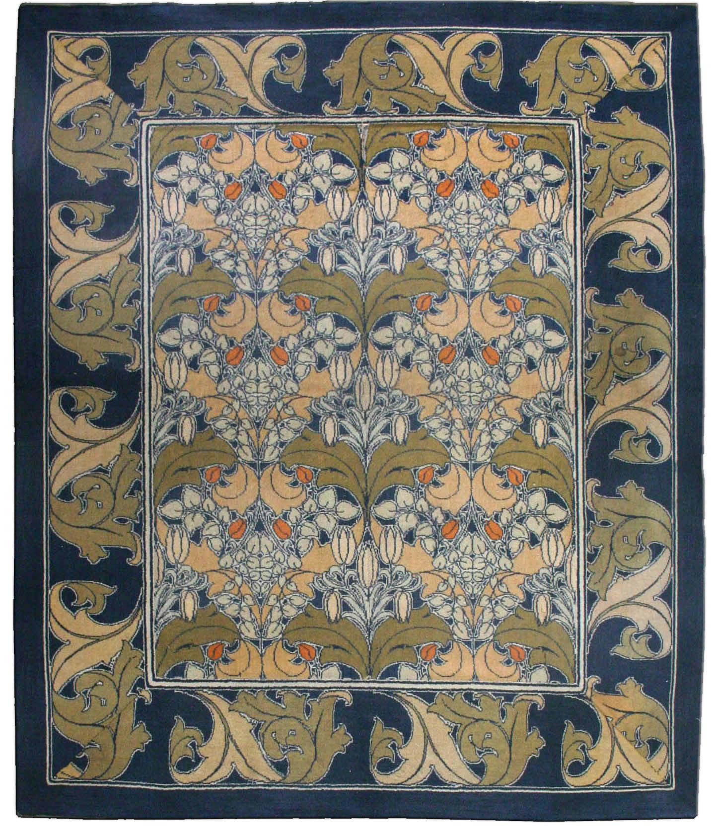 Arts And Crafts Voysey Rug Arts Crafts Rug Vintage Rug