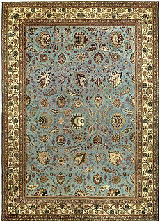 An Indian Amritsar Rug BB5233