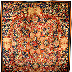 A French Aubusson rug BB4461