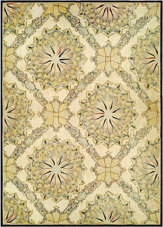 A French Aubusson Fragment carpet