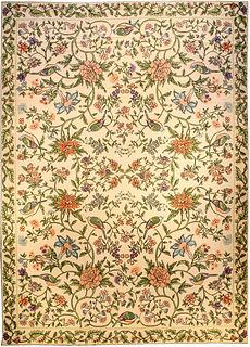 A Portuguese Needlepoint rug