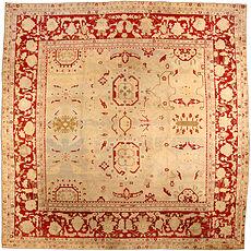 An Indian Agra rug BB3576