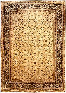 An Indian Agra carpet BB2727