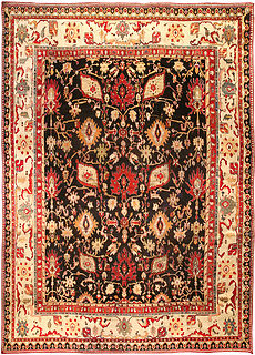 An Indian Agra carpet BB0280