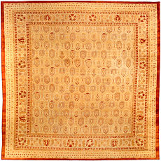 An Indian Amritsar rug BB3830