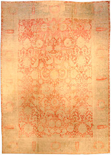 An Indian Cotton Agra carpet BB1917