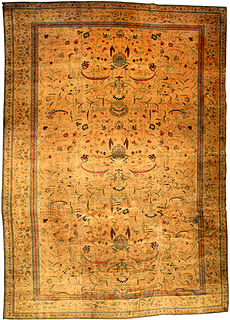 An Indian carpet BB2855