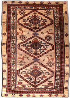 A Persian camel hair runner BB3144