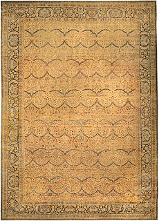 A Persian Kirman carpet BB4087