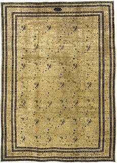 A Persian Kirman carpet BB1168